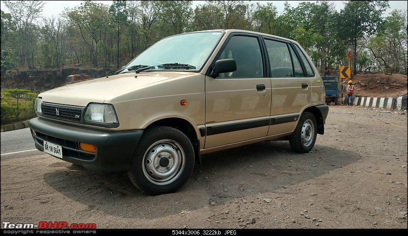 The love of my life - A 2000 Maruti 800 DX 5-Speed. EDIT: Gets export model features on Pg 27-img_20180520_095332715_hdrcompressed.jpg