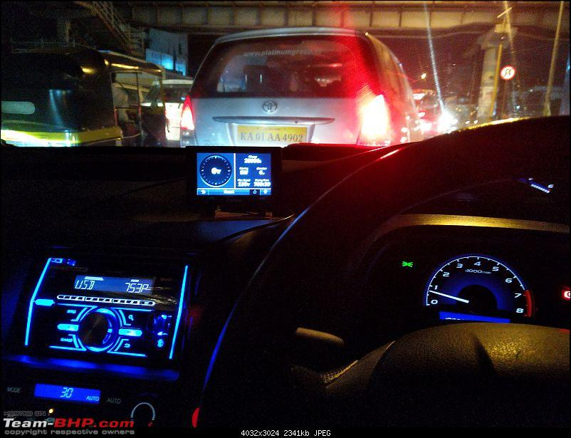 Honda Civic Independence : CNG'd. EDIT: 1,00,000 km up!-night.jpg