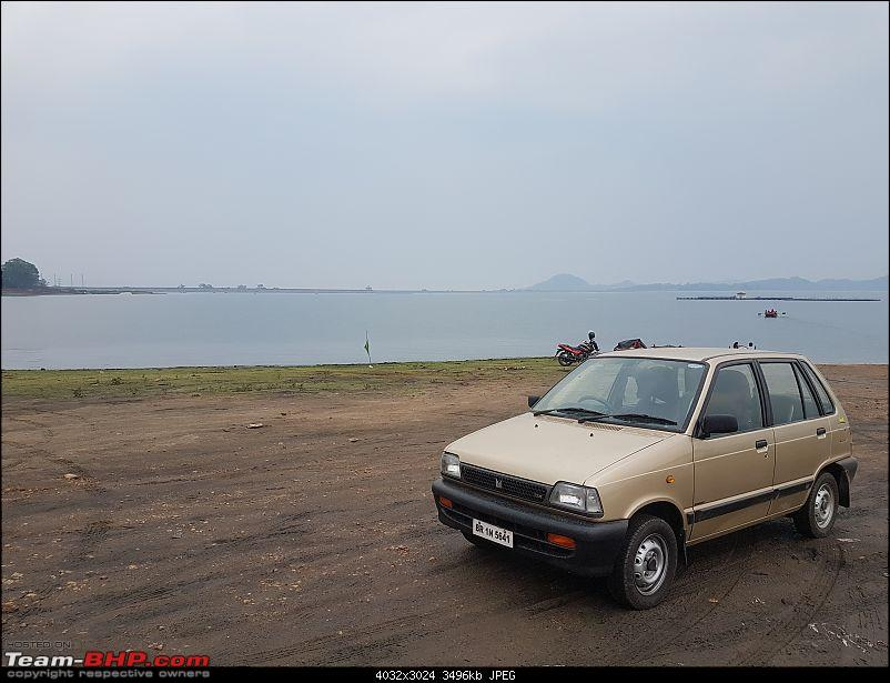 The love of my life - A 2000 Maruti 800 DX 5-Speed. EDIT: Gets export model features on Pg 27-20180527_175943.jpg