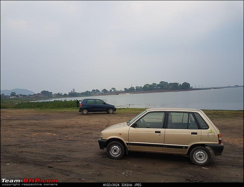 The love of my life - A 2000 Maruti 800 DX 5-Speed. EDIT: Gets export model features on Pg 27-20180527_180014.jpg