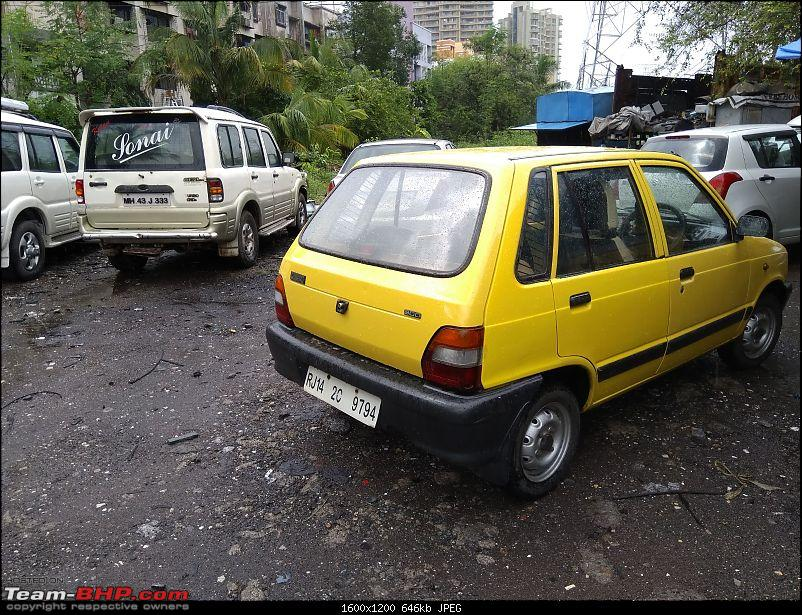 The love of my life - A 2000 Maruti 800 DX 5-Speed. EDIT: Gets export model features on Pg 27-car2.jpg