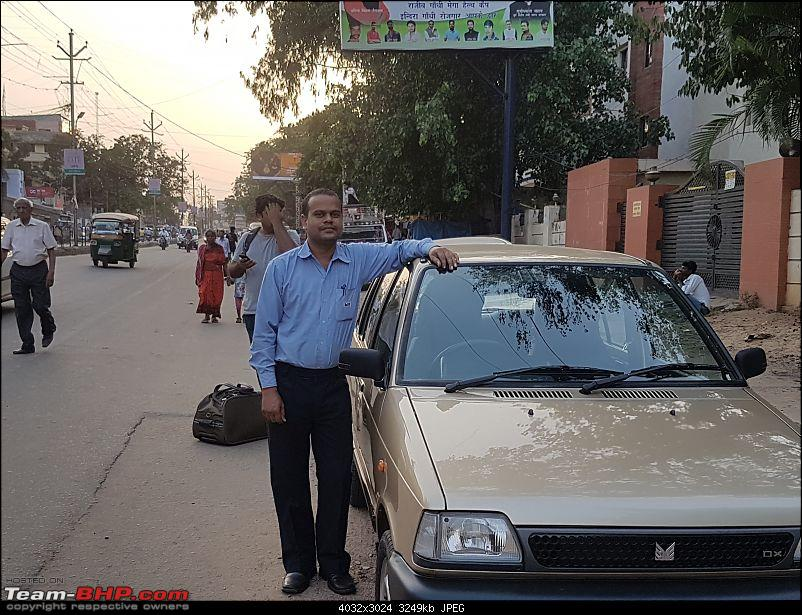 The love of my life - A 2000 Maruti 800 DX 5-Speed. EDIT: Gets export model features on Pg 27-20180616_180434.jpg