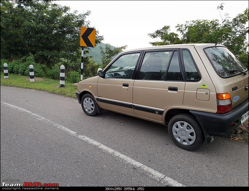 The love of my life - A 2000 Maruti 800 DX 5-Speed. EDIT: Gets export model features on Pg 27-20180712_175130.jpg