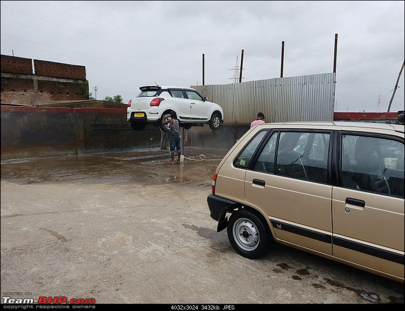The love of my life - A 2000 Maruti 800 DX 5-Speed. EDIT: Gets export model features on Pg 27-20180801_174023.jpg