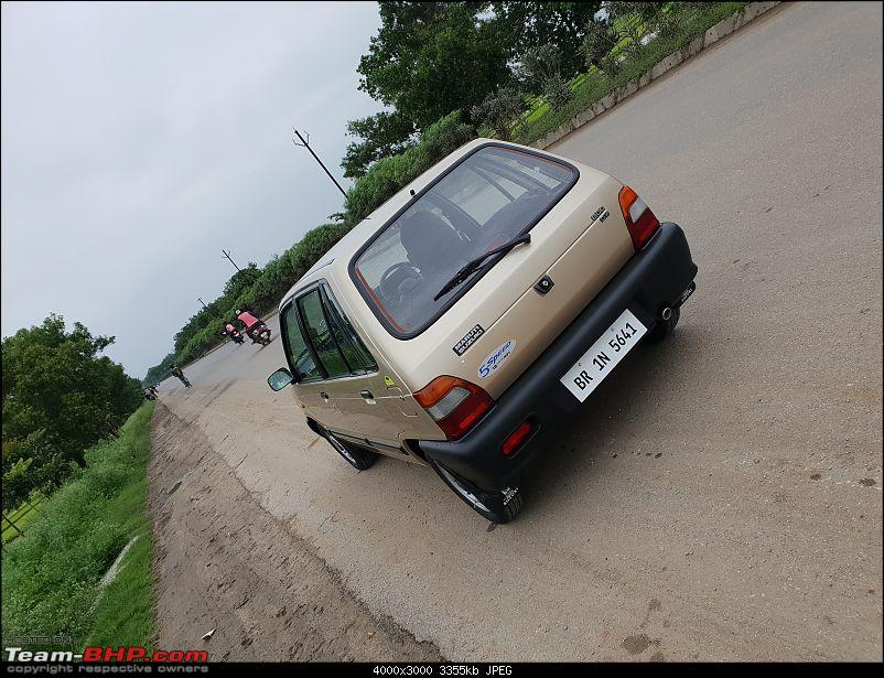The love of my life - A 2000 Maruti 800 DX 5-Speed. EDIT: Gets export model features on Pg 27-20180801_180258.jpg