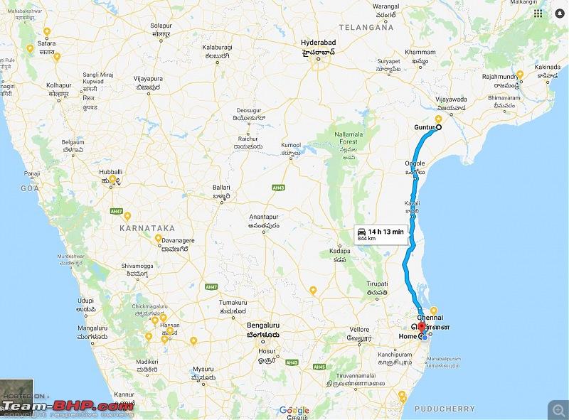 VW Polo GT TDI ownership log. Update: 140,000 km up!-guntur_map.jpg