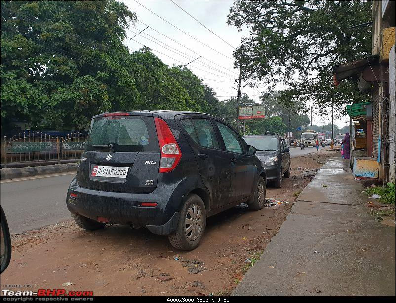 The love of my life - A 2000 Maruti 800 DX 5-Speed. EDIT: Gets export model features on Pg 27-20180902_071328.jpg