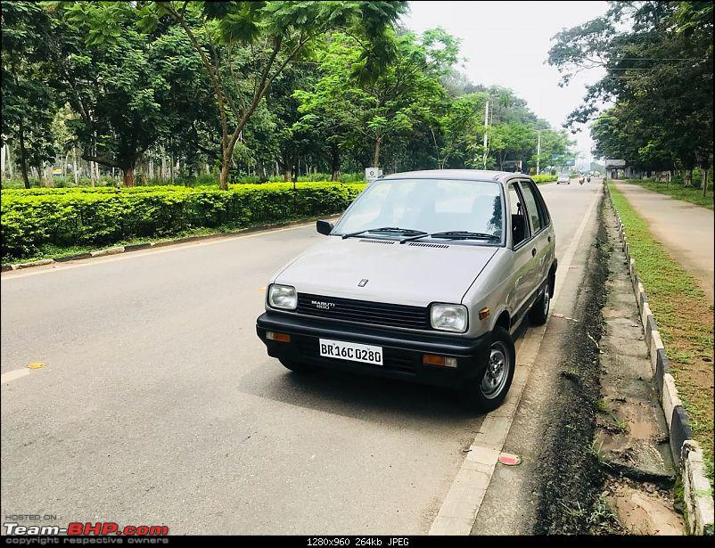 The love of my life - A 2000 Maruti 800 DX 5-Speed. EDIT: Gets export model features on Pg 27-img20180907wa0106.jpg
