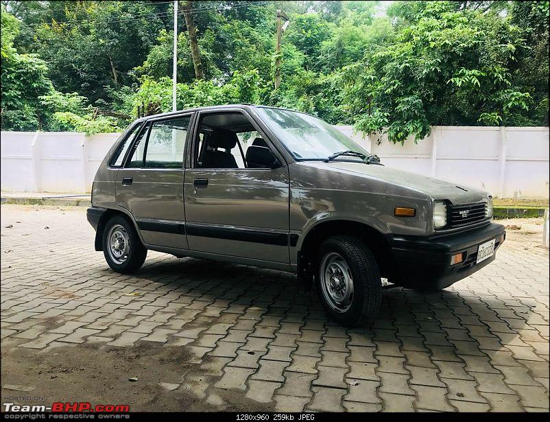 The love of my life - A 2000 Maruti 800 DX 5-Speed. EDIT: Gets export model features on Pg 27-img20180907wa0109.jpg