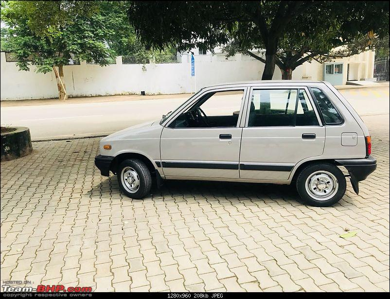 The love of my life - A 2000 Maruti 800 DX 5-Speed. EDIT: Gets export model features on Pg 27-img20180907wa0113.jpg