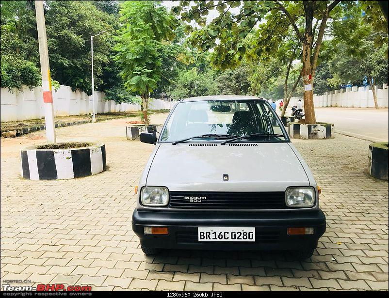 The love of my life - A 2000 Maruti 800 DX 5-Speed. EDIT: Gets export model features on Pg 27-img20180907wa0116.jpg