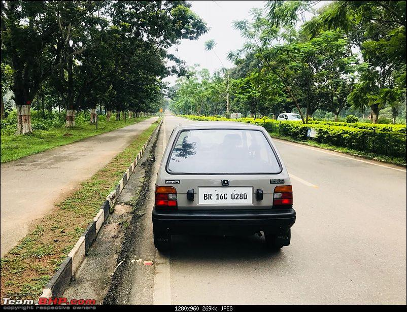 The love of my life - A 2000 Maruti 800 DX 5-Speed. EDIT: Gets export model features on Pg 27-img20180907wa0122.jpg