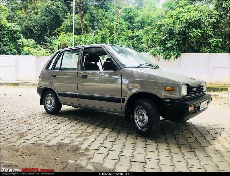 The love of my life - A 2000 Maruti 800 DX 5-Speed. EDIT: Gets export model features on Pg 27-img20180907wa0124.jpg