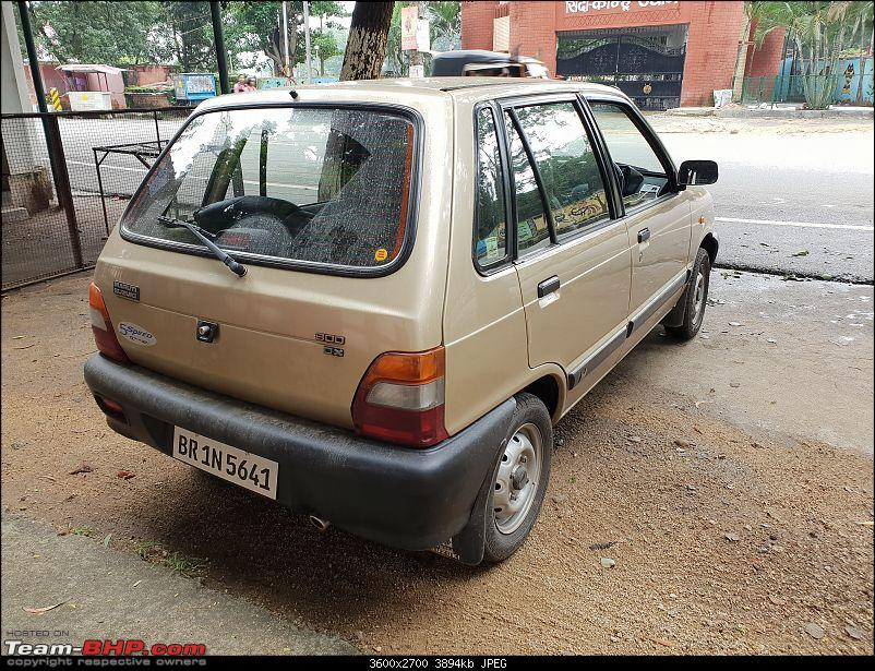 The love of my life - A 2000 Maruti 800 DX 5-Speed. EDIT: Gets export model features on Pg 27-1.jpg