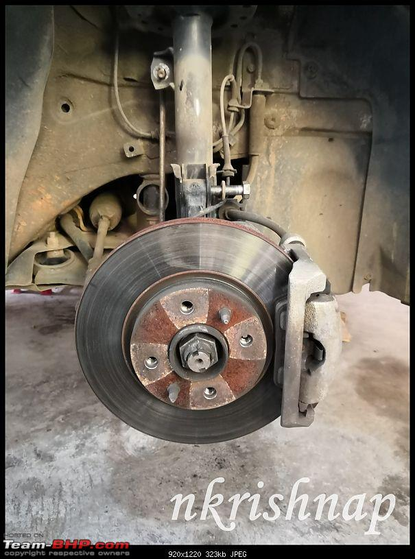 Petrol Hatch to Diesel Sedan - Fiat Linea - Now Wolfed-brake-pads.jpg