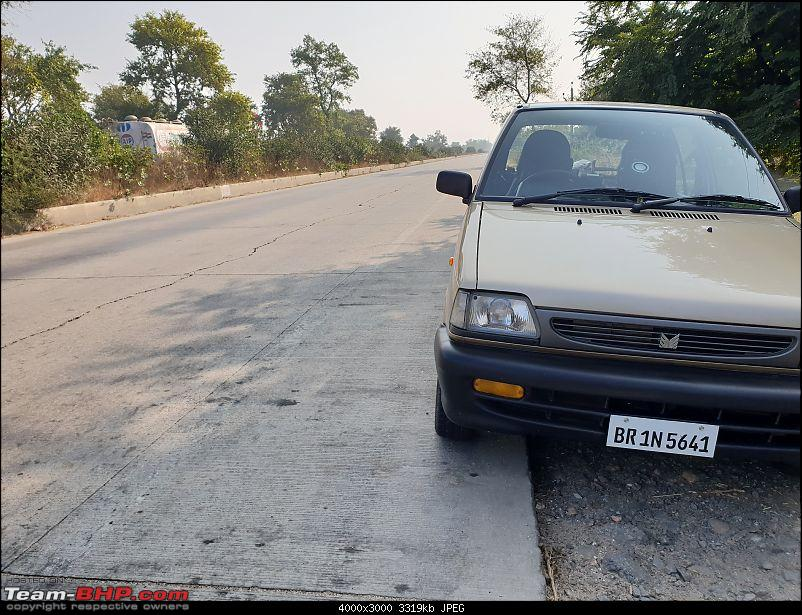 The love of my life - A 2000 Maruti 800 DX 5-Speed. EDIT: Gets export model features on Pg 27-24.jpg