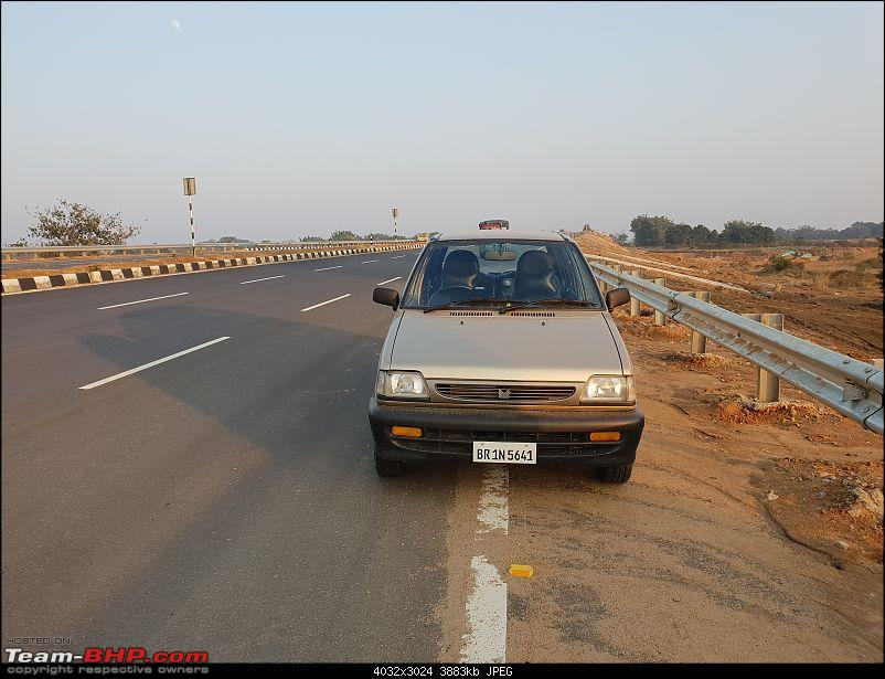 The love of my life - A 2000 Maruti 800 DX 5-Speed. EDIT: Gets export model features on Pg 27-37.jpg
