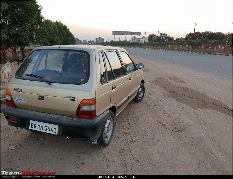 The love of my life - A 2000 Maruti 800 DX 5-Speed. EDIT: Gets export model features on Pg 27-38.jpg