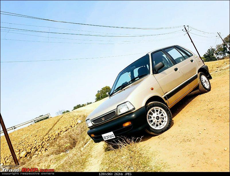 The love of my life - A 2000 Maruti 800 DX 5-Speed. EDIT: Gets export model features on Pg 27-img20190206wa0042.jpg