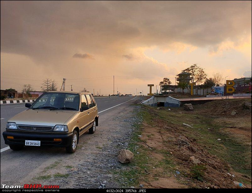 The love of my life - A 2000 Maruti 800 DX 5-Speed. EDIT: Gets export model features on Pg 27-20190216_172051.jpg