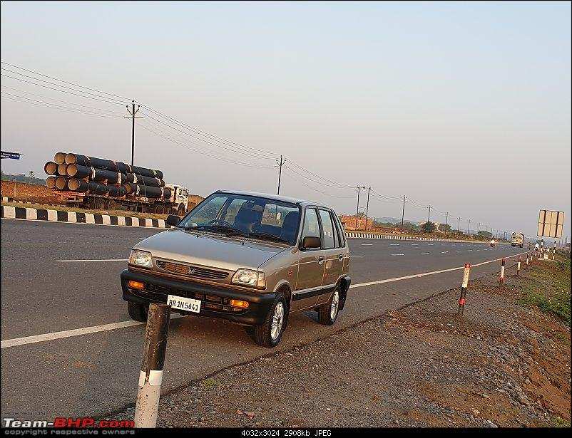The love of my life - A 2000 Maruti 800 DX 5-Speed. EDIT: Gets export model features on Pg 27-20190420_055505.jpg