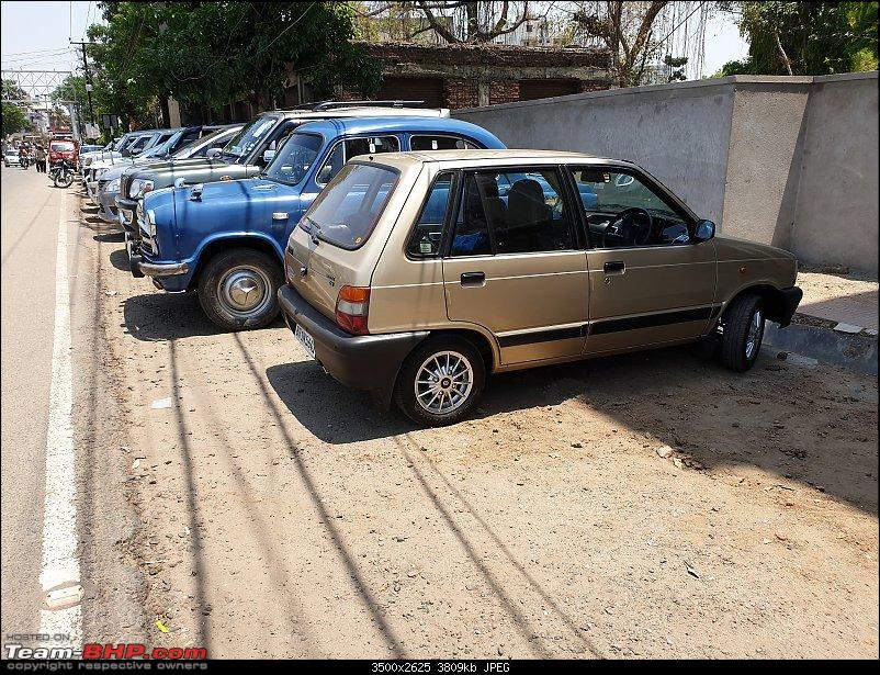 The love of my life - A 2000 Maruti 800 DX 5-Speed. EDIT: Gets export model features on Pg 27-20190420_115944.jpg