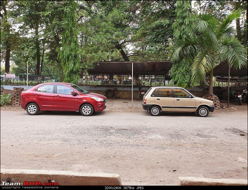 The love of my life - A 2000 Maruti 800 DX 5-Speed. EDIT: Gets export model features on Pg 27-20190420_162011.jpg