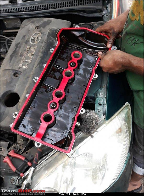 Why did I buy a 12 Year old Toyota Corolla - My experience-new-tappet-gasket-being-fitted.jpg