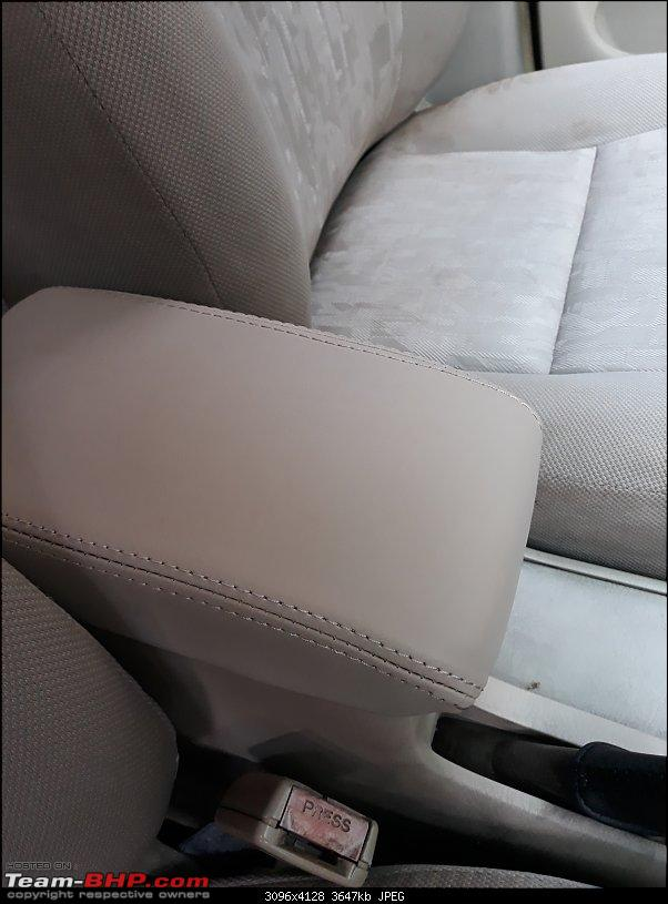 Why did I buy a 12 Year old Toyota Corolla - My experience-new-centre-arm-rest-cover.jpg