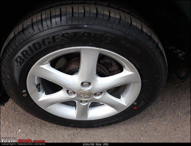 Why did I buy a 12 Year old Toyota Corolla - My experience-new-tyre-alloy-wheel-painted-2.jpg