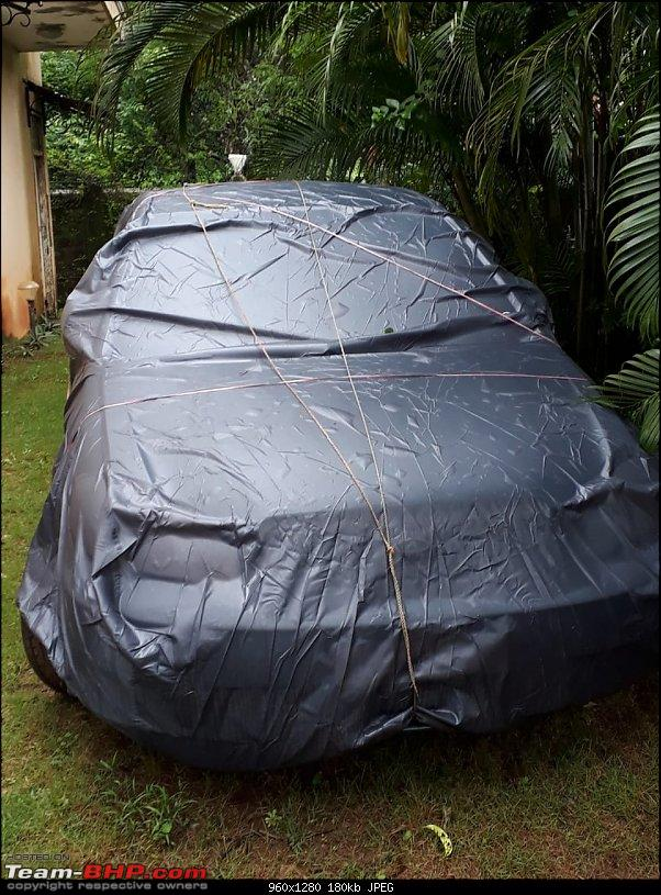 Why did I buy a 12 Year old Toyota Corolla - My experience-corolla-wrapped-up-goa-monsoon.jpg