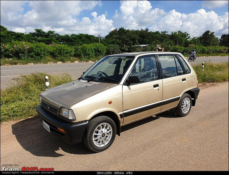 The love of my life - A 2000 Maruti 800 DX 5-Speed. EDIT: Gets export model features on Pg 27-20190920_143938.jpg