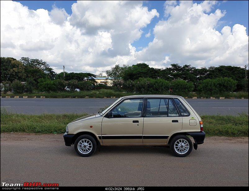 The love of my life - A 2000 Maruti 800 DX 5-Speed. EDIT: Gets export model features on Pg 27-20190920_144546.jpg