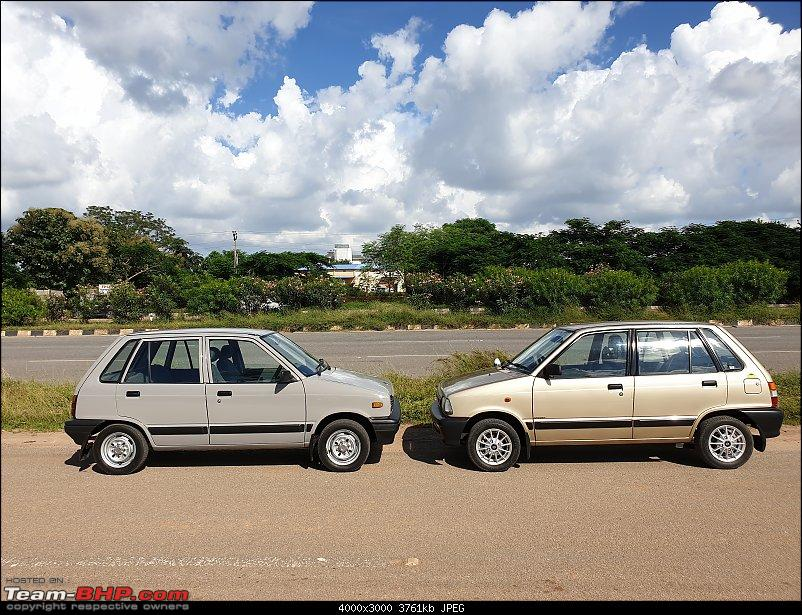 The love of my life - A 2000 Maruti 800 DX 5-Speed. EDIT: Gets export model features on Pg 27-20190920_145000.jpg