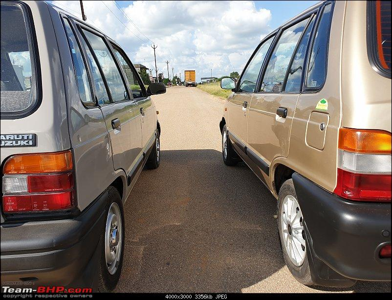 The love of my life - A 2000 Maruti 800 DX 5-Speed. EDIT: Gets export model features on Pg 27-20190920_145349.jpg