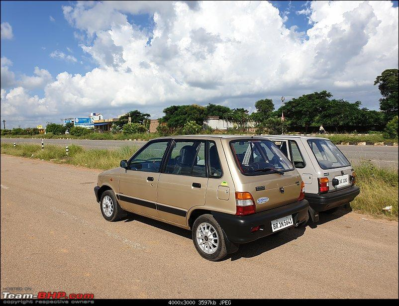 The love of my life - A 2000 Maruti 800 DX 5-Speed. EDIT: Gets export model features on Pg 27-20190920_145831.jpg