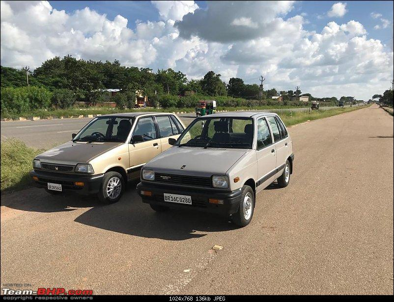 The love of my life - A 2000 Maruti 800 DX 5-Speed. EDIT: Gets export model features on Pg 27-img20190920wa0084.jpg
