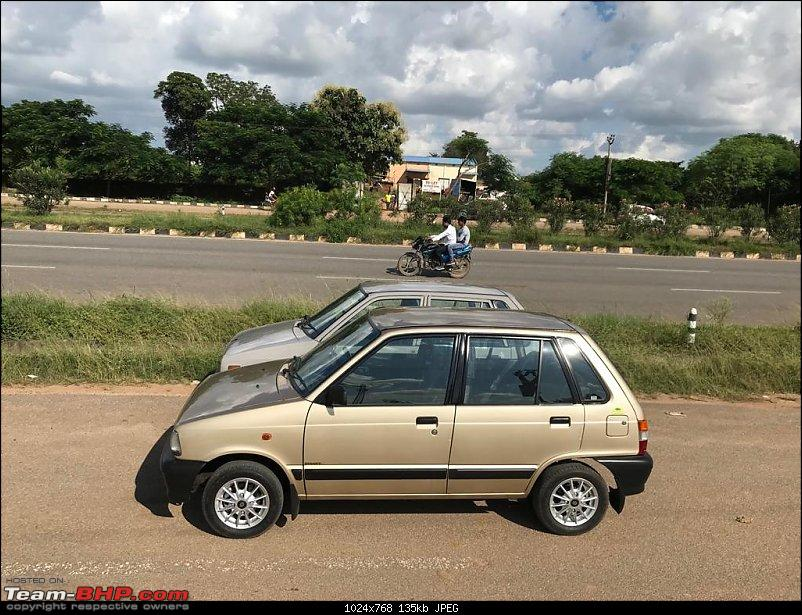 The love of my life - A 2000 Maruti 800 DX 5-Speed. EDIT: Gets export model features on Pg 27-img20190920wa0097.jpg