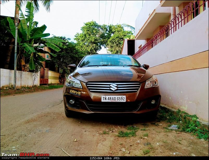 Terrific reliability and total comfort - 1 lakh km in my Maruti Ciaz ZDI-front2.jpg