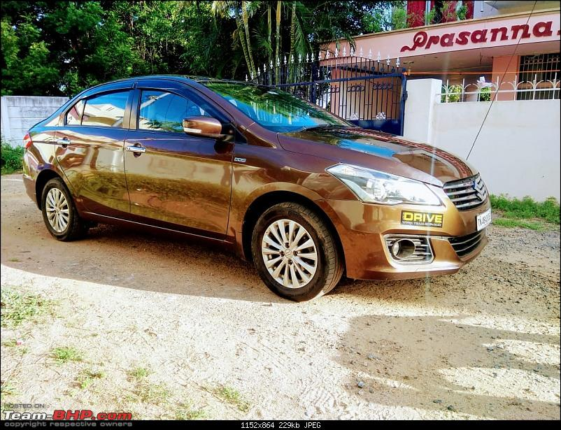 Terrific reliability and total comfort - My Maruti Ciaz ZDI. EDIT: 1,05,000 km done-front3.jpg