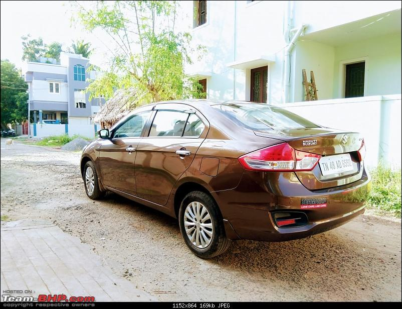"""My 2015 Maruti Ciaz ZDI - 1,33,000 km completed : Now Sold-rear1.jpg"