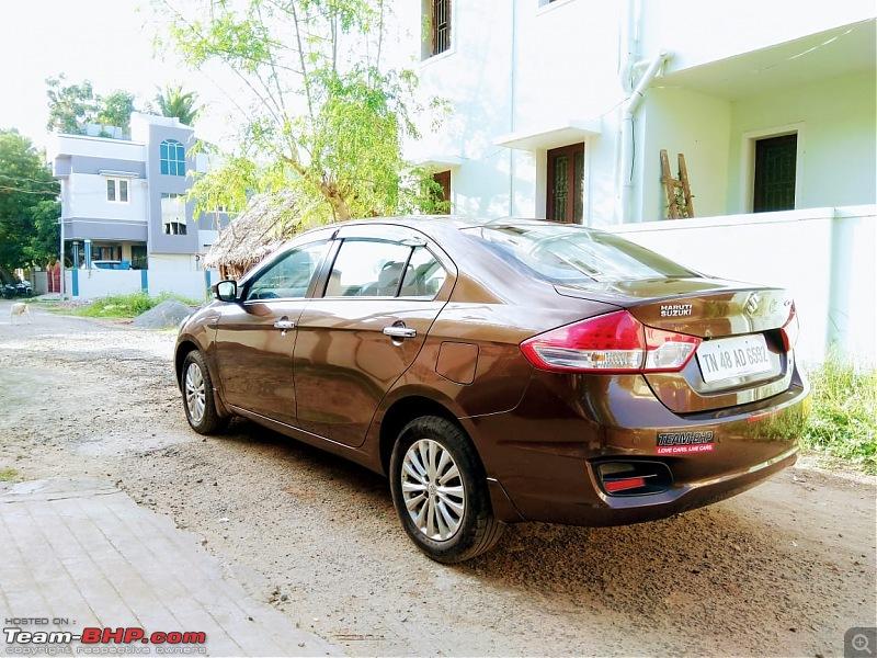 Terrific reliability and total comfort - 1 lakh km in my Maruti Ciaz ZDI-rear1.jpg