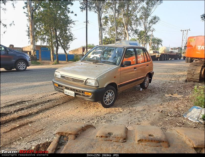 The love of my life - A 2000 Maruti 800 DX 5-Speed. EDIT: Gets export model features on Pg 27-2.jpg