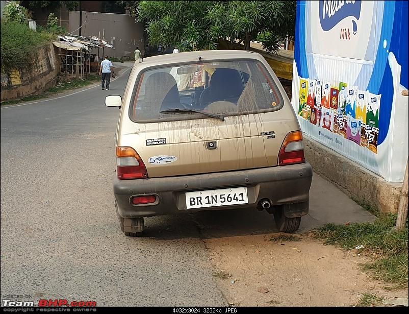 The love of my life - A 2000 Maruti 800 DX 5-Speed. EDIT: Gets export model features on Pg 27-13.jpg