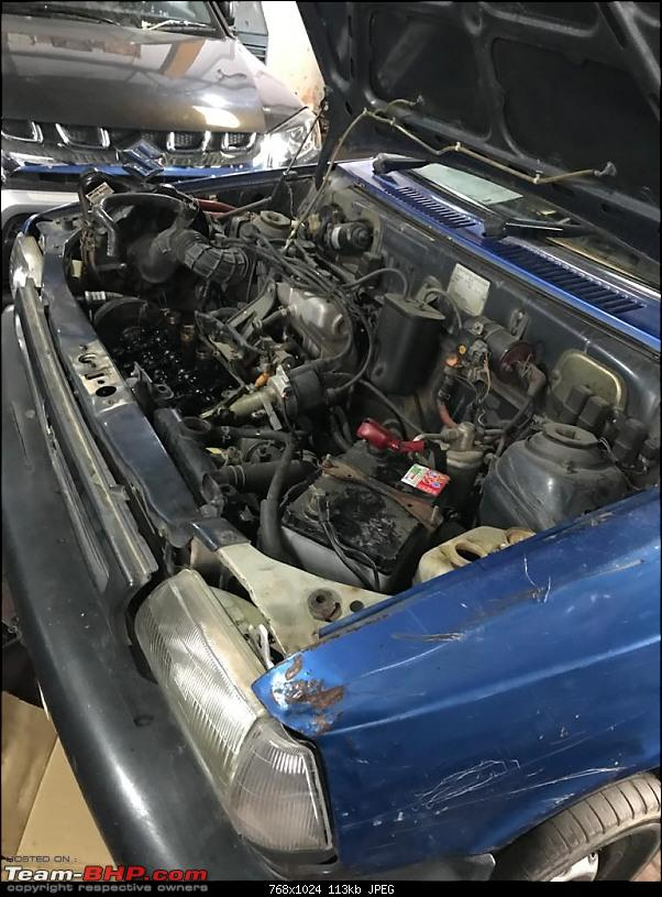 The love of my life - A 2000 Maruti 800 DX 5-Speed. EDIT: Gets export model features on Pg 27-img20200129wa0011.jpg