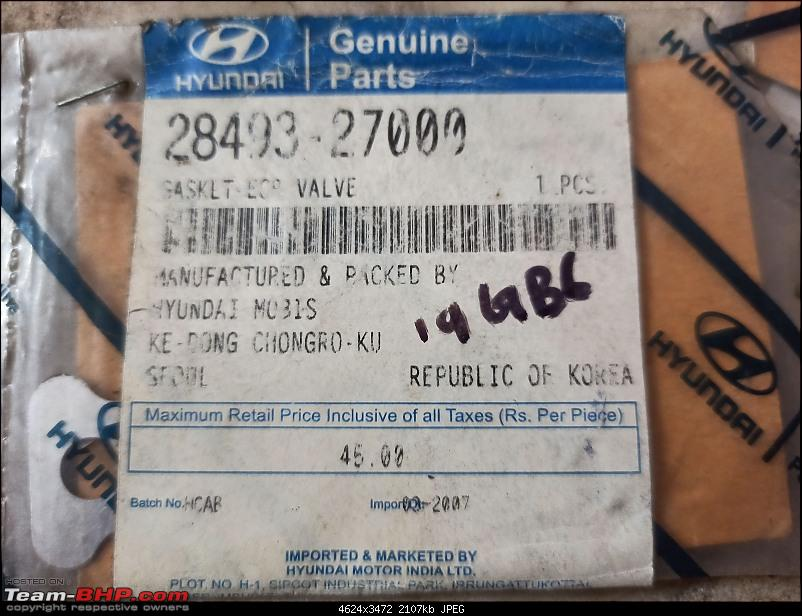 4,40,000 km on my 2006 Hyundai Elantra CRDi - And going strong!-img_20200203_070221-gasket.jpg