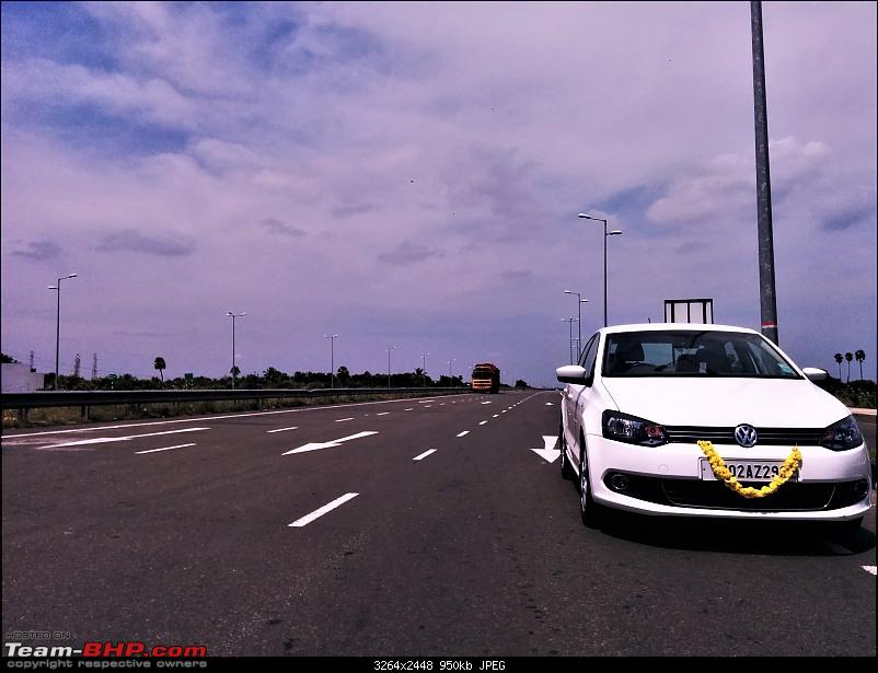 Vento Elemento - 6 years with a VW Vento 1.6 TDi-taking-out-highway.jpg
