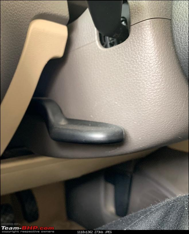 Vento Elemento - 6 years with a VW Vento 1.6 TDi-steering-adjust.jpg