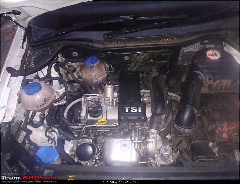 GT'ing around in my VW Polo TSI UPDATE: Let there be LIGHT! Halogen to BiXenon conversion!-01-engine-bay.jpg
