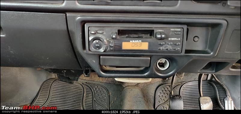 The love of my life - A 2000 Maruti 800 DX 5-Speed. EDIT: Gets export model features on Pg 27-img_20200602_102839.jpg